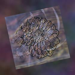 Embossed Flower by Antarasol