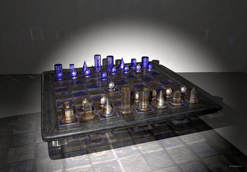 Chess Set 'Red vs Blue' v1.1