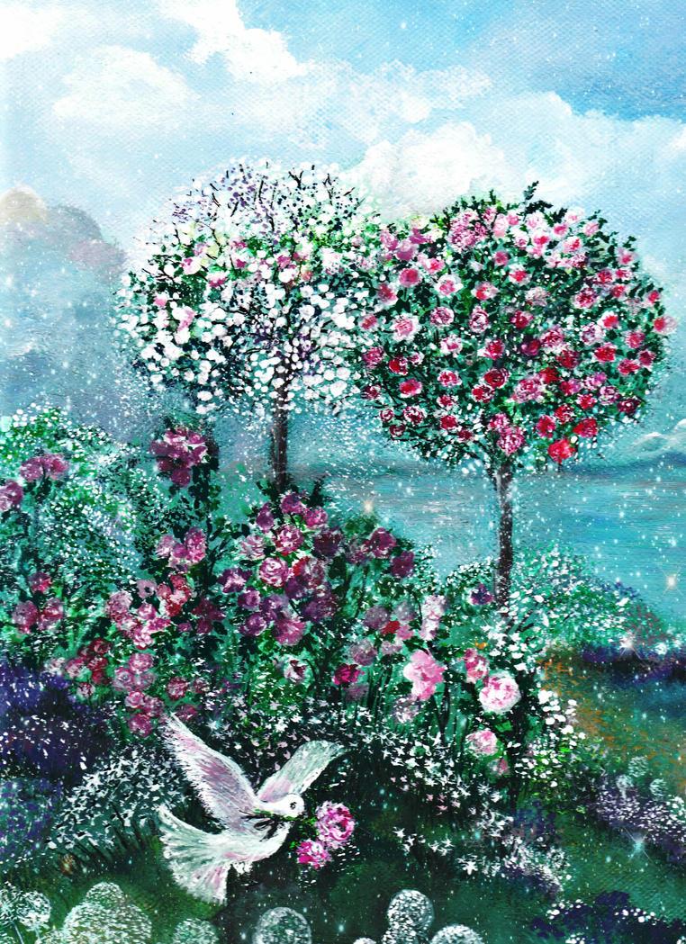 Roses for Maria by milenkadelic