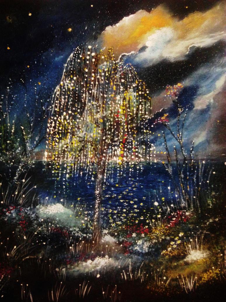 Willow tree by milenkadelic