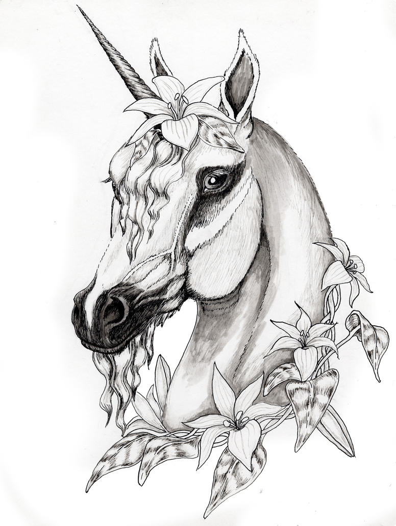 Flowered Unicorn By SpottedPegasus On DeviantArt