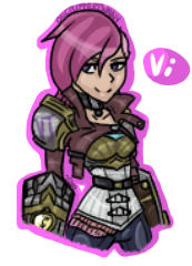 Vi the vicious by OneBitterBunny