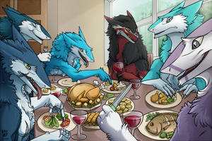 Sergal YCH Lunch time by louizim