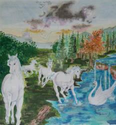 Blessing of Unicorns by MATTimagine