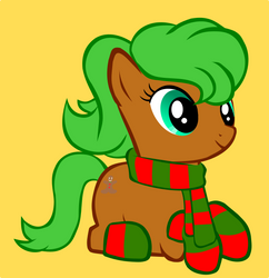 YCH Winter Pony Sample - Ginger Joy (OPEN)