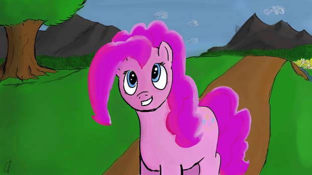 Pinkie Pie's quiet day