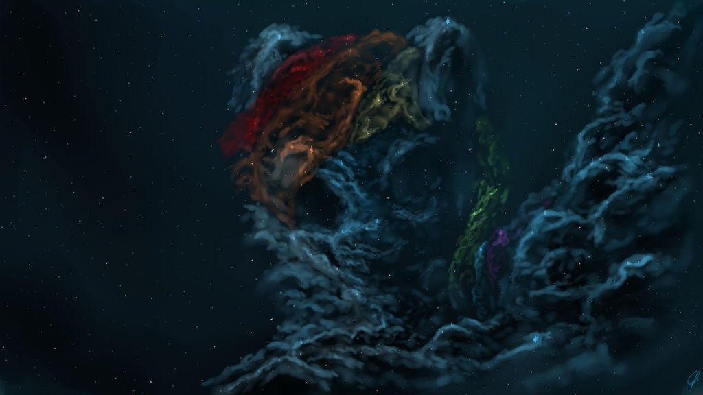 Rainbow Dash Nebula by Com3tFire on DeviantArt