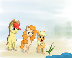 AJ with Parents by CometFire1990
