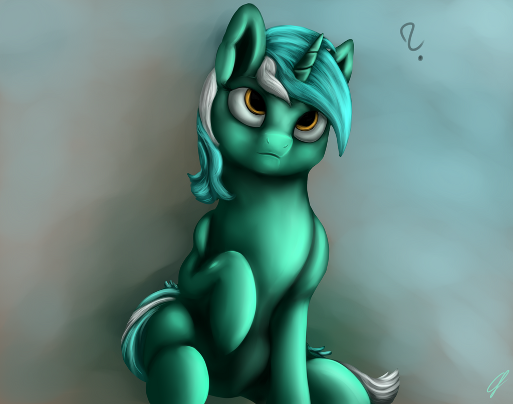 Confused Lyra by CometFire1990