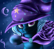 Magic Trixie by CometFire1990