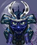 Luna Shogun Mask by Com3tFire