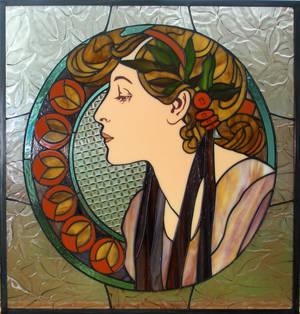 Mucha window :: Laurel