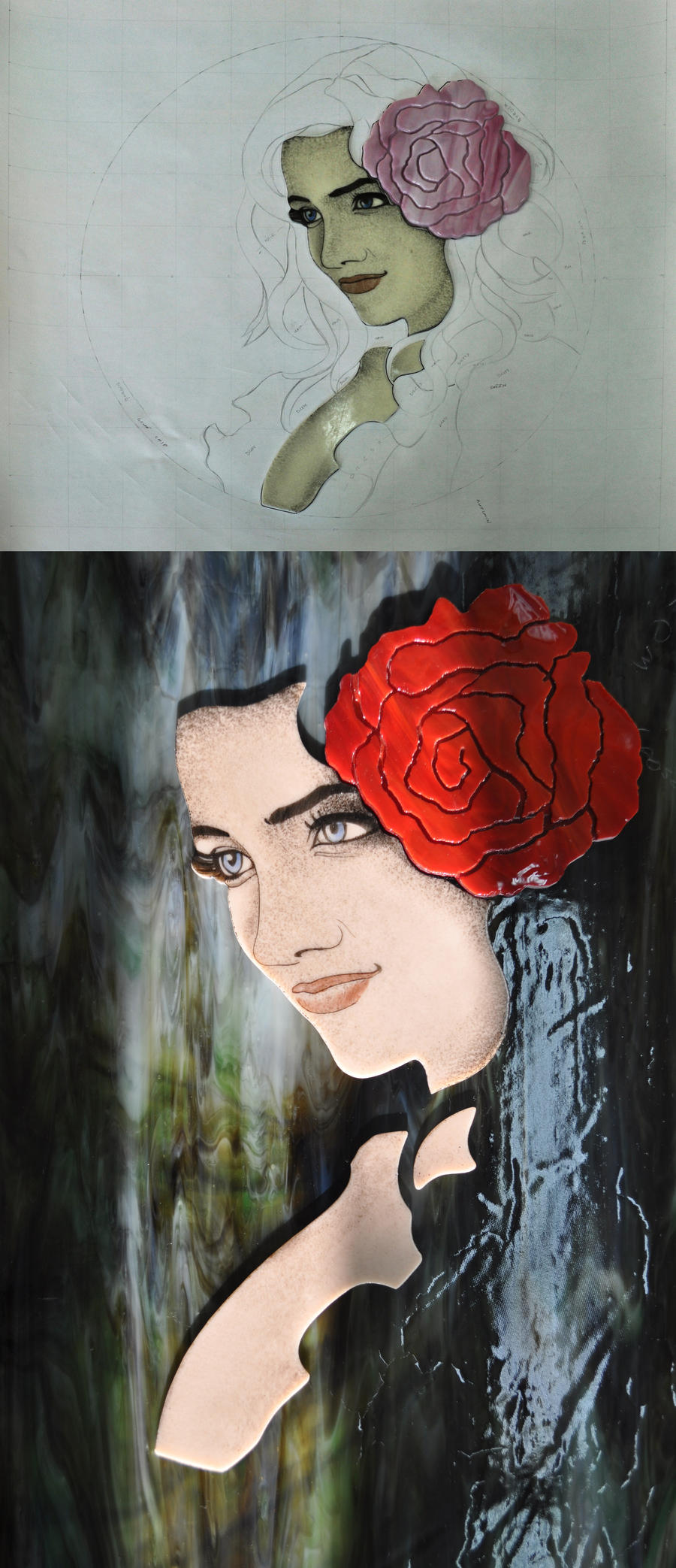rose WIP by Avogel57
