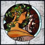 Mucha Window :: Ivy