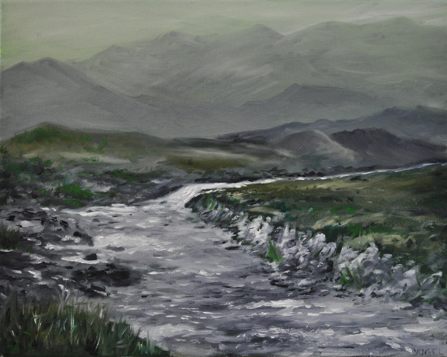 Oils Practice No. 3, Scotland Challenge by Avogel57
