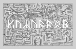 .: Khazad-Dum text maze :. by Avogel57