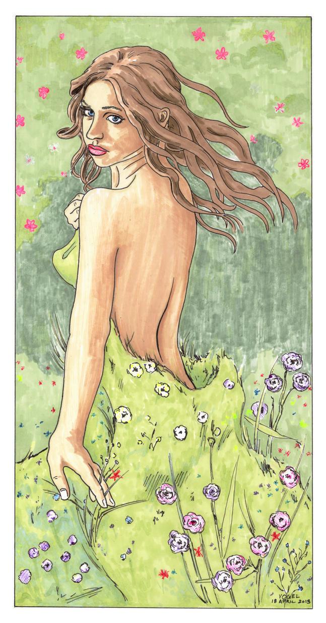 .: Yavanna :. by Avogel57
