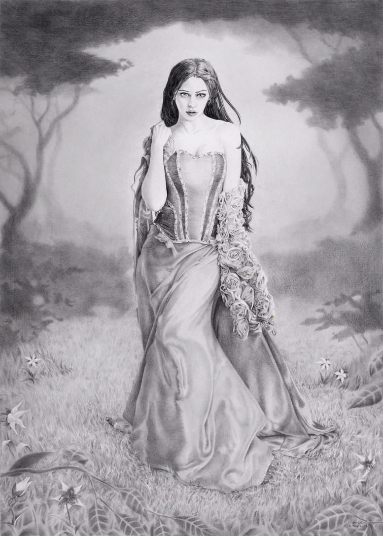 :: Luthien Tinuviel :: by Avogel57