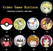 Video Game Buttons - Etsy Special