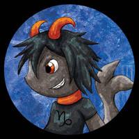 Zodiac Chibi of the Day - Capricorn