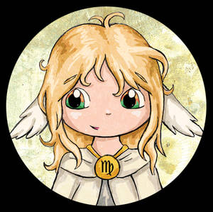 Zodiac Chibi of the Day - Virgo
