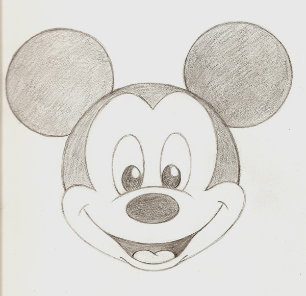 Baby Minnie Mouse Drawing at PaintingValley.com   Explore ...  Cute Baby Mickey Mouse Drawings