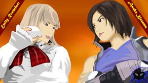 Gilbis - Lili and Asuka Vectorized