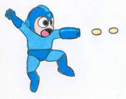 Mega Man by LimeGreenSquid