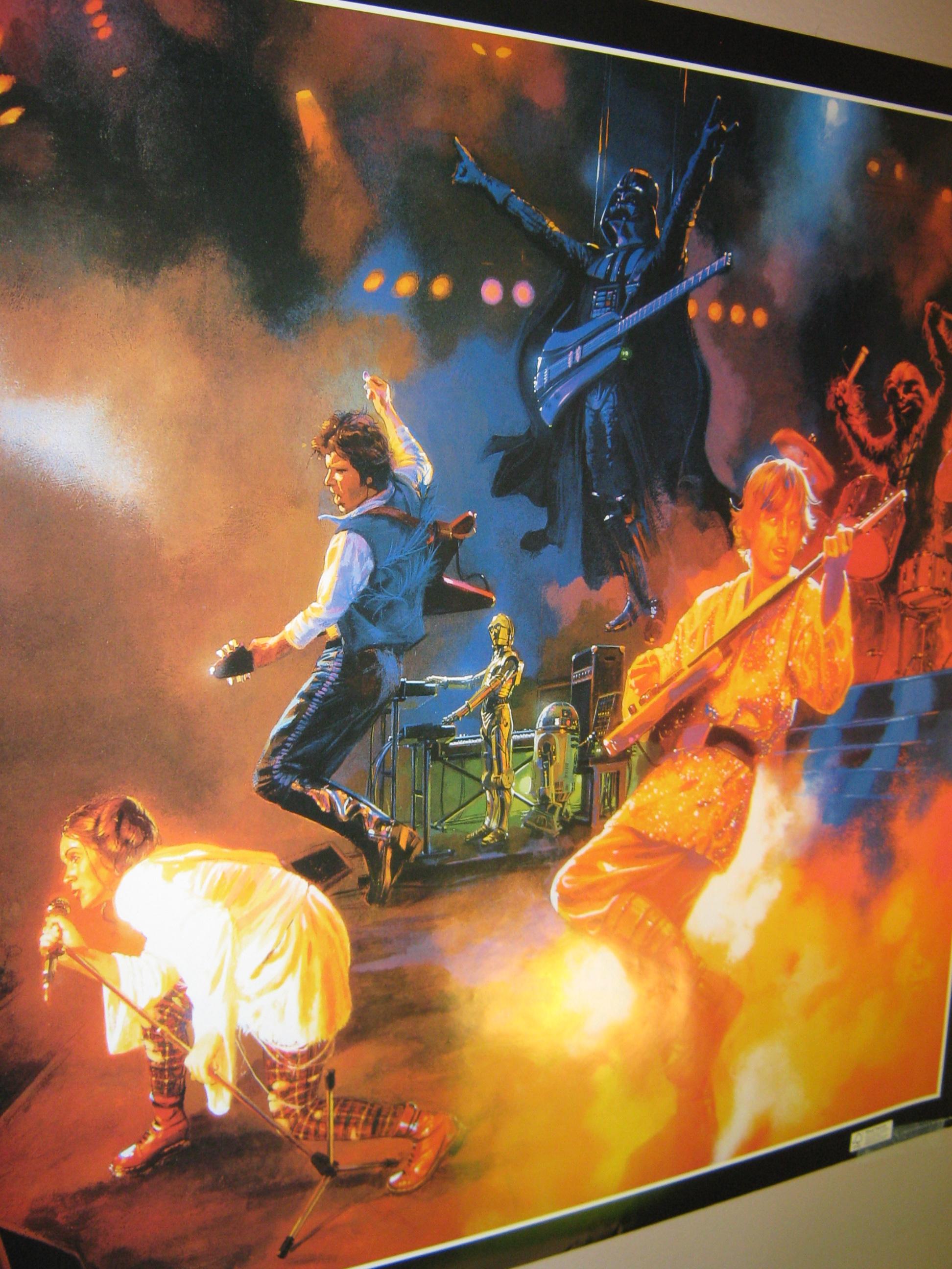 star wars rocks - band by limegreensquid on deviantart