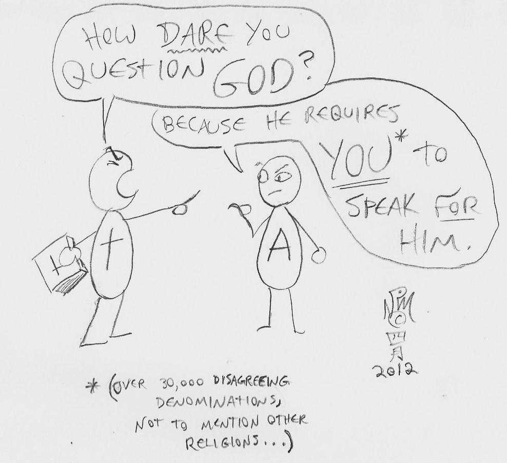Question God by LimeGreenSquid