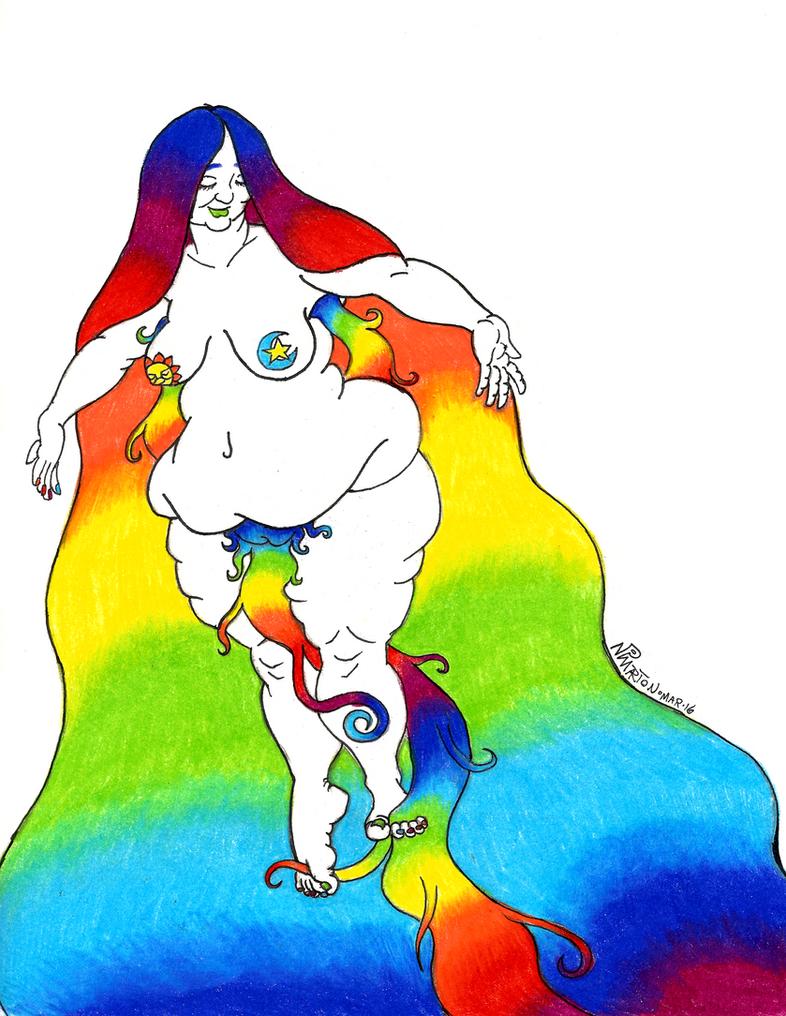 Rainbow Flight by LimeGreenSquid