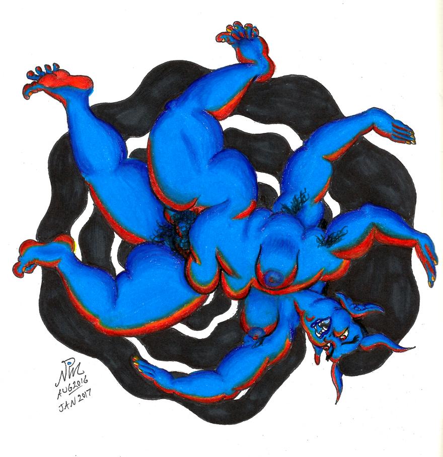 Wheel Demon by LimeGreenSquid