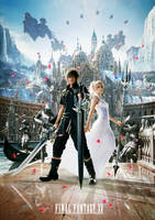 Final Fantasy XV - Stand By Me The Light and Moon by NurBoyXVI