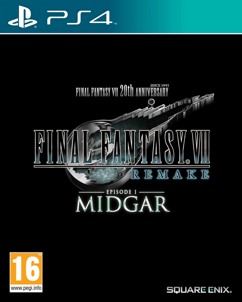 Final Fantasy VII Remake: Episode 1 - MIDGAR by NurBoyXVI