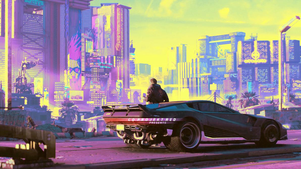 Cyberpunk 2077 4k wallpaper 2018 game info by nurboyxvi on deviantart - Cyberpunk 2077 wallpaper 4k ...