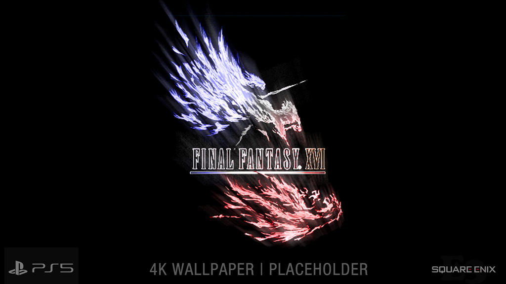 Final Fantasy Xvi Ff16 Official 4k Wallpaper By Nurboyxvi On Deviantart