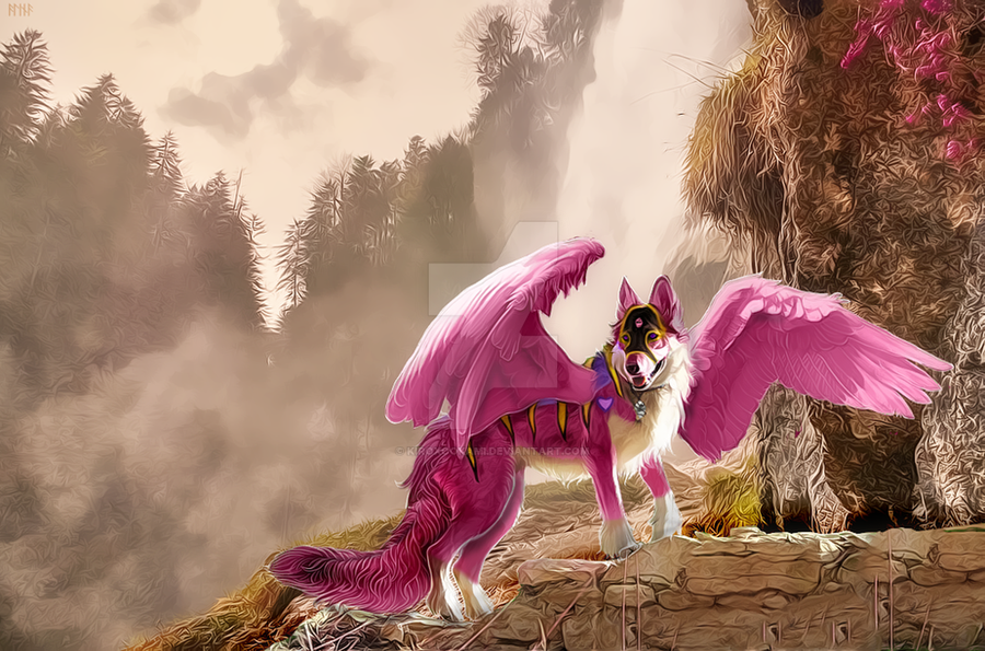 Commission: Kiera by KiroXookami