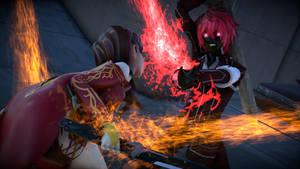 RWBY - Diablos Burns Cinders