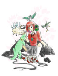Chise and Friends by CheesyHipster