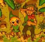 Link and Linebeck