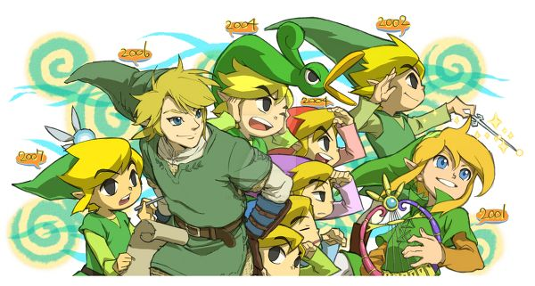 Link's evolution 2 by YoshinoAkie