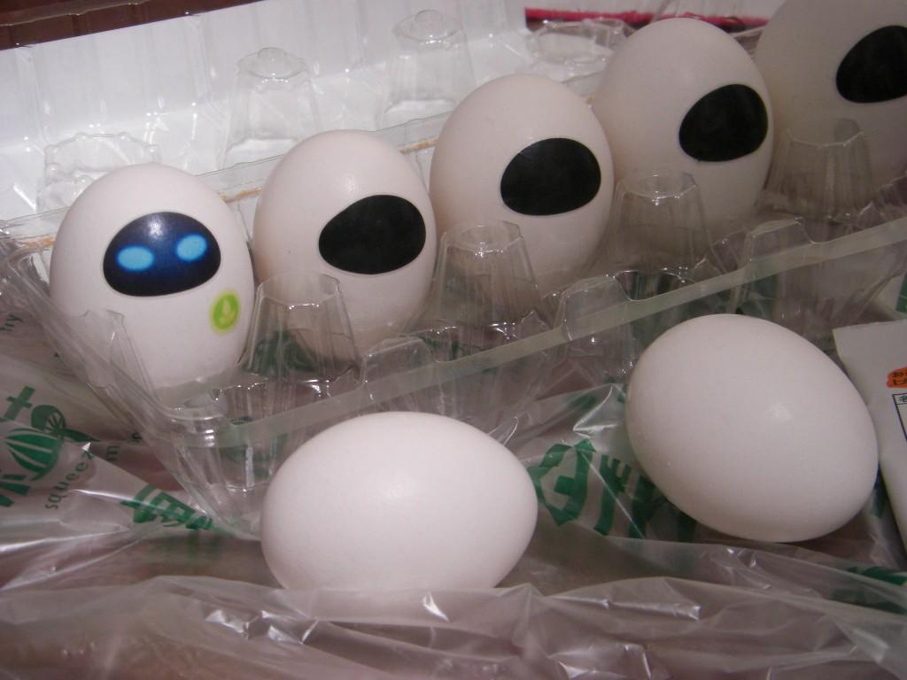 eve the eggshell by j-fujita
