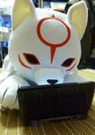 chibiterasu playing 3DS