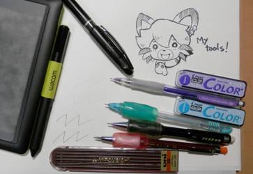 My tools by j-fujita