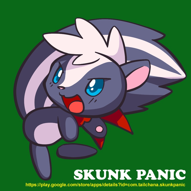 [AD] skunk panic by j-fujita