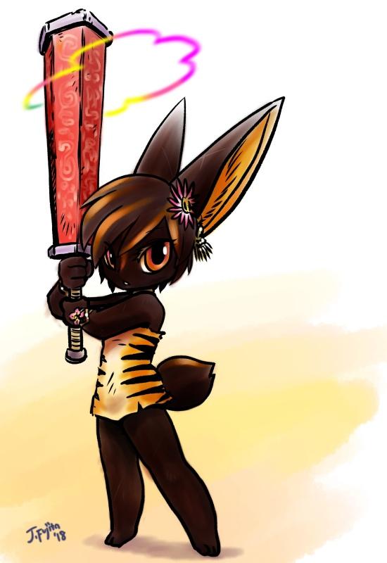 Dakini the Flower Knight Fanart by j-fujita