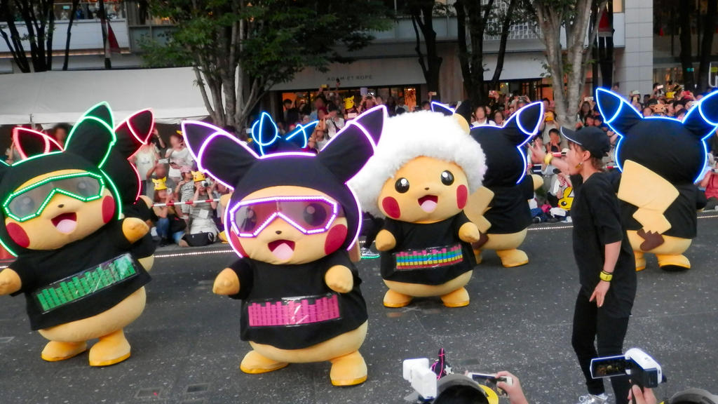 Pikachu OutBreak Yokohama 2018 Pt3 by j-fujita