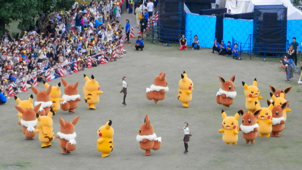 Pikachu OutBreak Yokohama 2018 Pt6 by j-fujita
