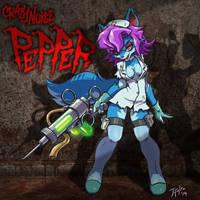 Crazy Nurse Pepper (Paladins) by j-fujita