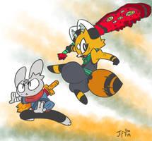 Ninjin and Akai